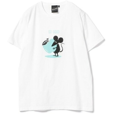 【SALE/10%OFF】BEAMS T 【SPECIAL PRICE】BEAMS T / Shadow Graphic So Good Tee ビームスT カットソー【RBA_S】【RBA_E】