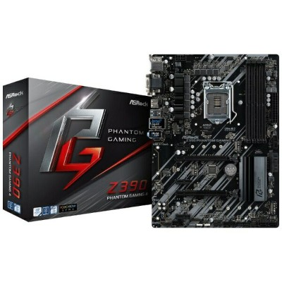 ASROCK アスロック ゲーミングマザーボード Z390 Phantom Gaming 4 Z390PhantomGaming4 [ATX /1151][Z390PHANTOMGAMING4]