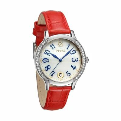 ZECA 腕時計 Milan Edition Female Analogue - 143L.LRE.D.S1 Red, Silver