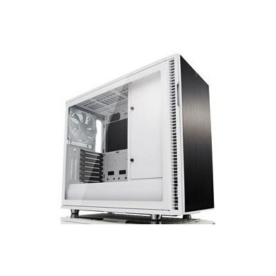 【送料無料】Fractal Design(フラクタルデザイン) Define R6 Tempered Glass White USB3.1 Gen2 USB-C FD-CA-DEF-R6C-WT...