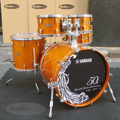 Yamaha Drums 50th Anniversary Drum Set [HM50CL / Curly Maple with Antique Natural] 【店頭展示チョイキズ特価品】