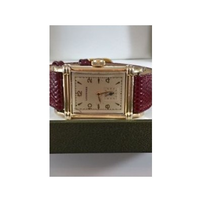 【送料無料】腕時計 ウォッチアールデコkタンクa 1940s ww ll era gents longines art deco 10k gf tank watch recently serviced