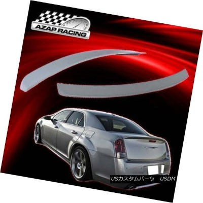 エアロパーツ 11-18 ABS Brand New Diy Rear Trunk Lip Spoiler Wing Fits Chrysler 300 300C SRT 11-18...