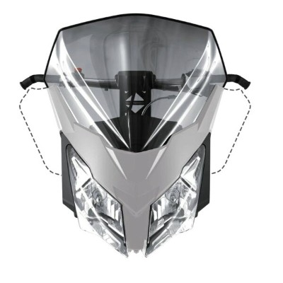 2020 ski-doo/スキードゥHIGH WINDSHIELDREV-XM, REV-XS