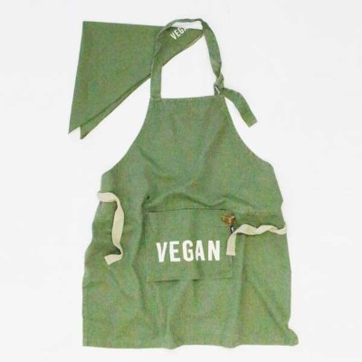 AND PACKABLE アンドパッカブル KIDS APRON キッズエプロン ビーガン 89615