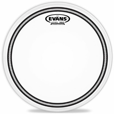 """EVANS ドラムヘッド B12EC2S/12"""" EC2 Frosted Snare/Tom/Timbale【エヴァンス エバンス EC2S フロステッド】"""