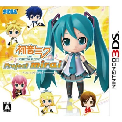初音ミク and Future Stars Project mirai [通常版] [3DS] / ゲーム