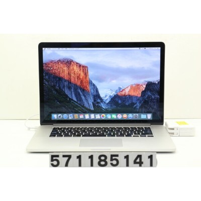 Apple MacBook Pro Retina A1398 Late 2013 Core i7 4850HQ 2.3GHz/8GB/256GB(SSD)/15.4W/QWXGA+...