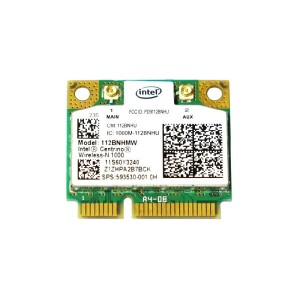 Lenovo/HP純正 60Y3241/60Y3203 593530-001 Intel Centrino Wireless-N 1000 802.11b/g/n PCIe Mini half 無線LANカード