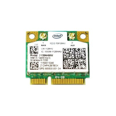 Lenovo/HP純正 60Y3241/60Y3203 593530-001 Intel Centrino Wireless-N 1000 802.11b/g/n PCIe Mini half...