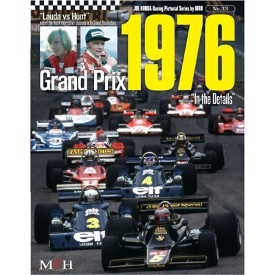 "NO.33 Grand Prix 1976""In the Details""  Joe HONDA Racing Pictorial Series by HIRO NO33【MFH BOOK】"