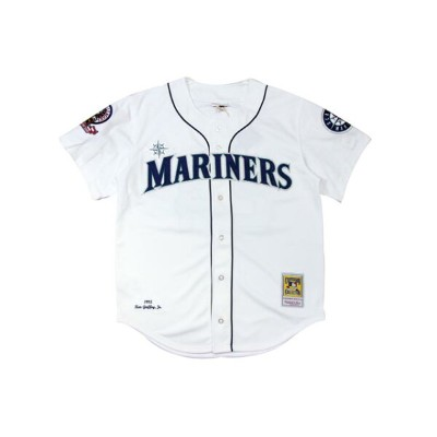 ●MITCHELL&NESS KEN GRIFFEY JR. 1995 MLB AUTHENTIC JERSEY (SEATTLE MARINERS: WHITE)ミッチェル&ネス...
