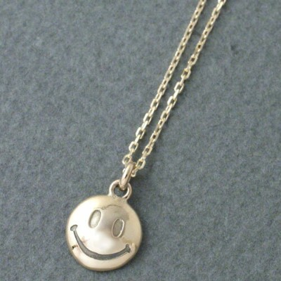 Atease K10 SMILE NECKLACE LARGE CG LIMITED