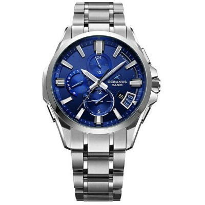 カシオ CASIO [Bluetooth搭載ソーラーGPS電波時計]オシアナス(OCEANUS) 「Premium Production Line GPS HYBRID WAVE CEPTER...