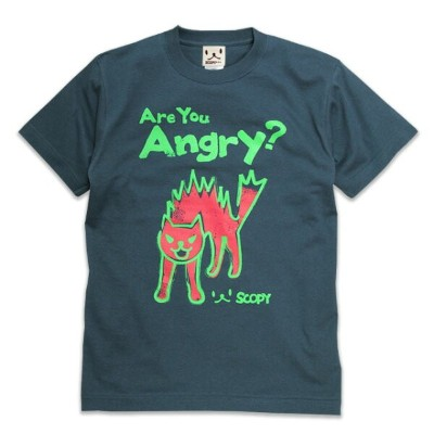 【SCOPY スコーピー】Are you angry? Tシャツ neco.tXS/S/M/L/XL
