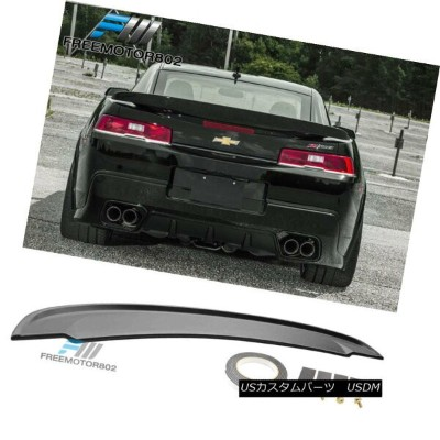 エアロパーツ Fits 14-15 Chevrolet Camaro Flush Mount OE STYLE Trunk Spoiler Wing Unpainted フィット14...