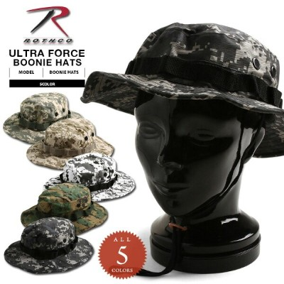 【20%OFFクーポン対象品】ROTHCO ロスコ ULTRA FORCE ブーニーハット DIGITAL CAMO《WIP》 ミリタリー 男性 ギフト プレゼント