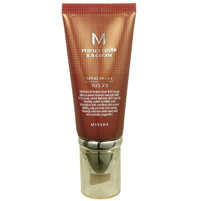 ミシャ MISSHA BBクリーム UV SPF42 PA+++ NO.23 50ml