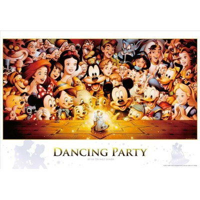 TEN-D1000-434 ディズニー Dancing Partyアートコレクション 1000ピース [CP-D] パズル Puzzle ギフト 誕生日 プレゼント 誕生日プレゼント