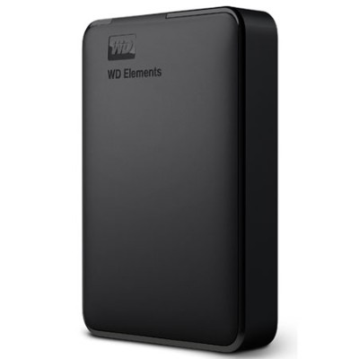WesternDigital WDBUZG0010BBKJESN WD Elements Portable 1TB 外付けハードディスクドライブ