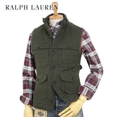 POLO by Ralph Lauren Men's Quilted Ceuiser Vest USポロ ラルフローレン スウェット ベスト