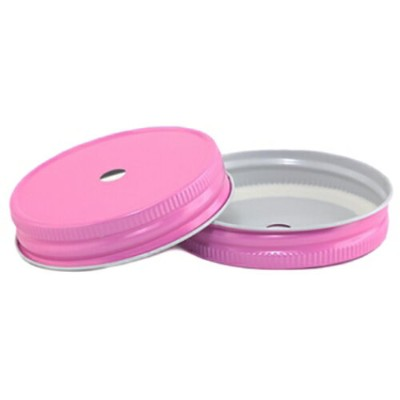 [SUPER PRICE] Pretty Pink Regular Mouth Complete Lid With 9mm Hole レギュラーマウス用 蓋9mm穴付き プリティピンク 1個