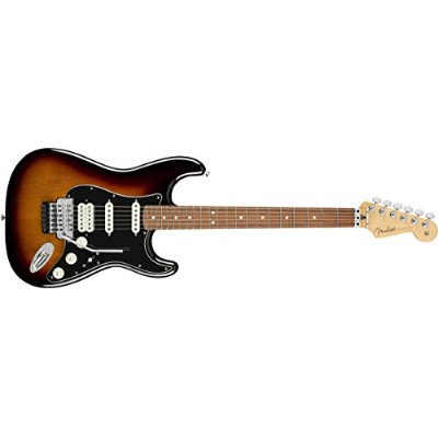 Fender エレキギター Player Stratocaster® with Floyd Rose®, Pau Ferro Fingerboard, 3-Color Sunburst