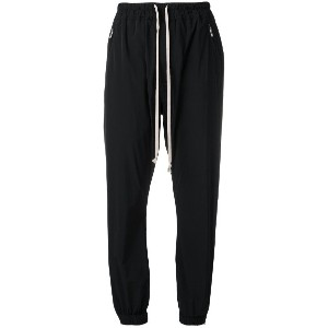 Rick Owens tapered trousers - ブラック