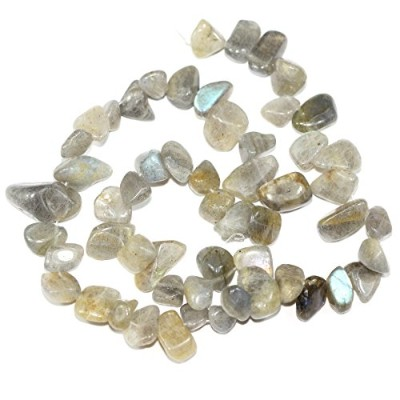 AAA Natural Labradorite Gemstones Smooth Teardrop Loose Beads Free-form ~18x10mm beads for Jewelry...