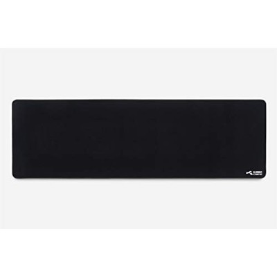 Glorious Extended Gaming Mouse Mat / Pad - XXL Large, Wide (Long) Black Mousepad, Stitched Edges |...