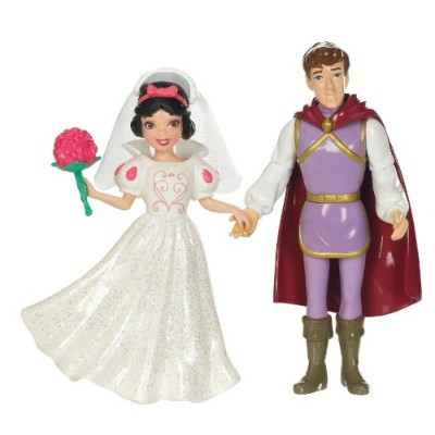 白雪姫 スノーホワイト ディズニープリンセス T7322 Mattel Disney Princess Fairytale Wedding Snow White and The Prince...