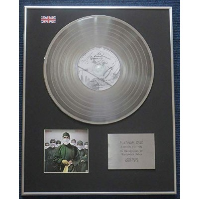 Rainbow- Limited Edition CD Platinum LP Disc - Difficult to Cure