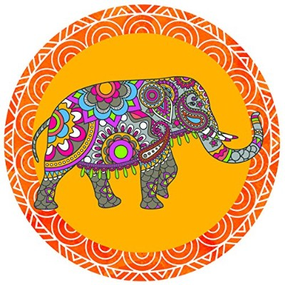 (Indian Elephant) - Screen Door Magnets - Twist, Click and Lock - Keep People and Pets from Walking...