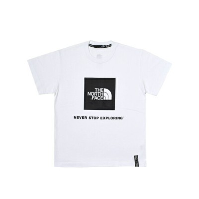THE NORTH FACE RAGE S/S BOX LOGO TEE【NT31964-W-WHITE】