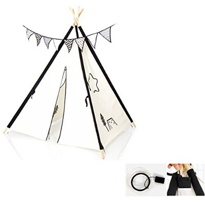 iFAM Tent for Kids with LED light 子供のためのルナ村のテントLEDライト付き[並行輸入品]