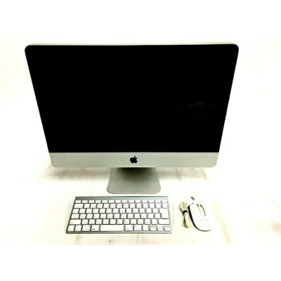 【中古】 Apple iMac MB950J/A 一体型 PC 21.5型 Late 2009 C2D E7600 3.06GHz 4GB HDD500GB High Sierra 10.13...