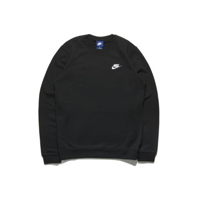 【OUTLET特価】NIKE CLUB FT CREW(804343-010)【ナイキ クラブ フレンチテリー クルー】【長袖】【トレーナー】【トップス】【TOPS】
