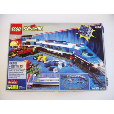 レゴ VERY RARE: Lego Railway Express Train Set w/ Transformerレゴ