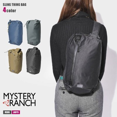 【SALE★最大1000円OFFクーポン】 送料無料 MYSTERY RANCH ミステリーランチ ボディバッグ スリングシング バッグ SLING THING BAG メンズ レディース...