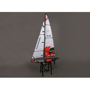 Fiberglass RC Yacht Sailboat Thunder 1000mm (ARR)