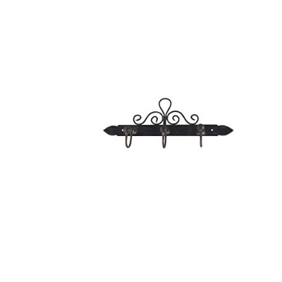 French Kitchen Collection Towel Hanger with 3 Hooks Antic