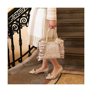 TO BE CHIC/TO BE CHIC  レイヤード シークインBAG(W5124104__) ベージュ 【三越・伊勢丹/公式】 バッグ~~ハンドバッグ