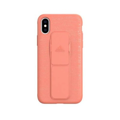 Adidas 31697 SP Grip Case FW18 Chalk Coral 〔iPhone XS/X用〕
