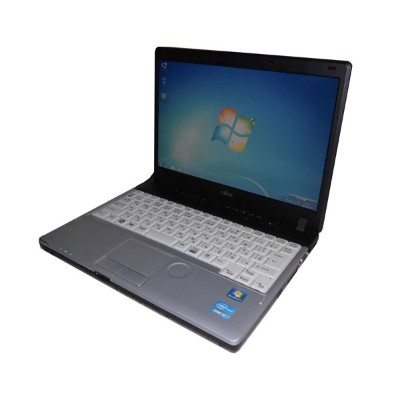 中古ノートパソコン Windows7 Pro 32bit 軽量 富士通 LIFEBOOK P771/C (FMVNP4NE) Core i5-2520M 2.5GHz/4GB/160GB...