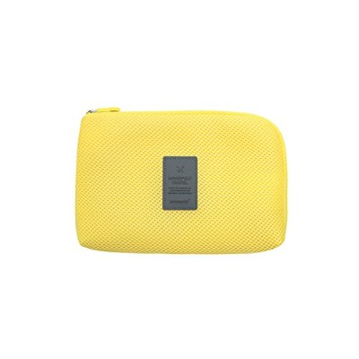 【MONOPOLY 公式】正規品 MONOPOLY CABLE POUCH size L LIMELIGHT ケーブルポーチ サイズL トラベル 旅行 収納ポケット(ライムライト)