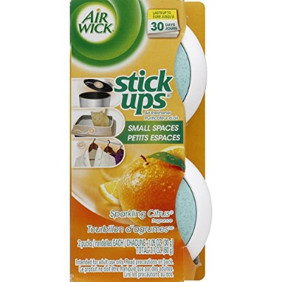 Air Wick Stick Ups Air Freshener, Sparkling Citrus, 2 Count by Air Wick