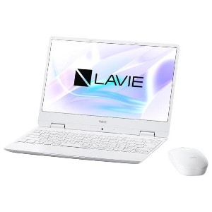 NEC ノートパソコン KuaL LaVie Note Mobile パールホワイト PC-NM750MAW-E1 [PCNM750MAWE1]【RNH】