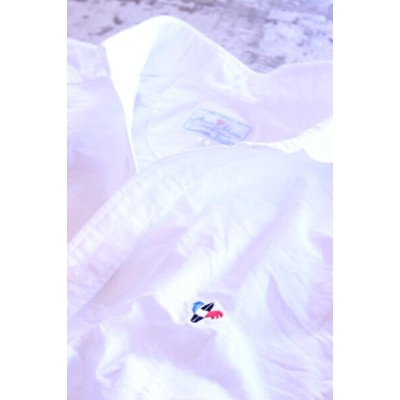 Arvor Maree(アルヴォマレー)SAILOR L/S OXFORD SHIRT WHITE【Men's】
