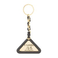 Chanel Pre-Owned チェーン キーホルダー - ゴールドトーン