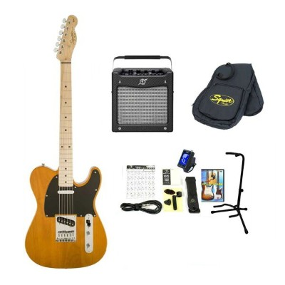 Squier by Fender / Affinity Telecaster Butterscotch Blonde Maple 【Fender MD-20アンプ14点セット】 スクワイヤー...